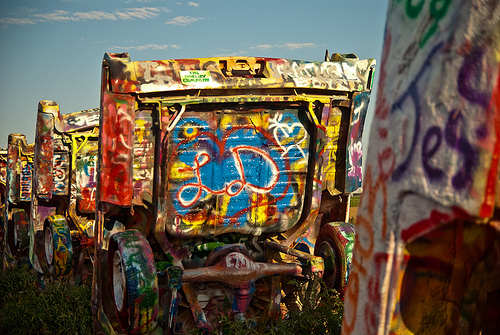 Cadillac Ranch: Public Art