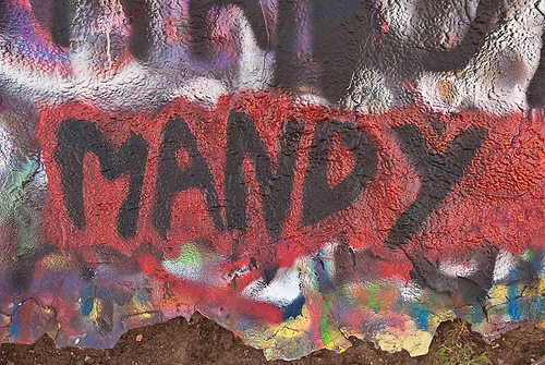 Cadillac Ranch: Mandy!