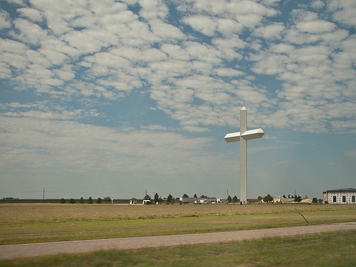 Largest Cross in the Western Hemisphere: Groom, TX