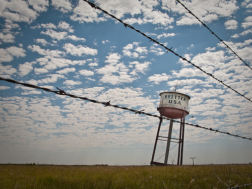 Crooked Water Tower: Groom, TX