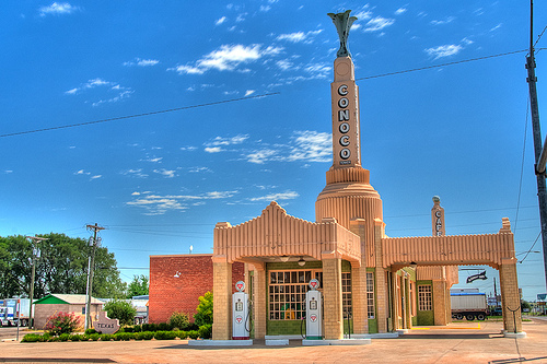 Route 66: Shamrock, TX
