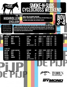 2012 11 03 Cyclocross Race Poster